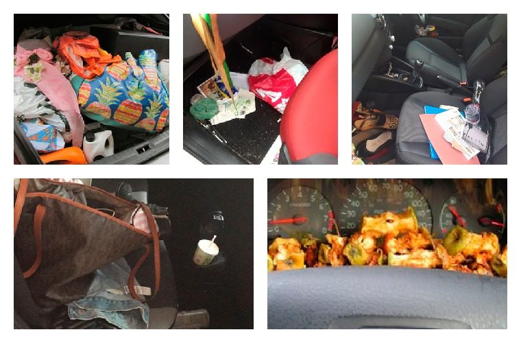 Highway horrors: can you top these messy cars?