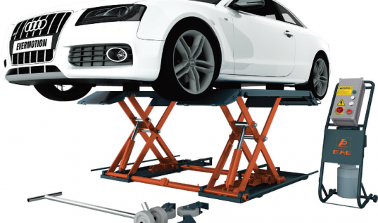 EAE three-tonne mid-rise scissor lift