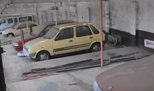 Watch: abandoned dealership trapped in time warp