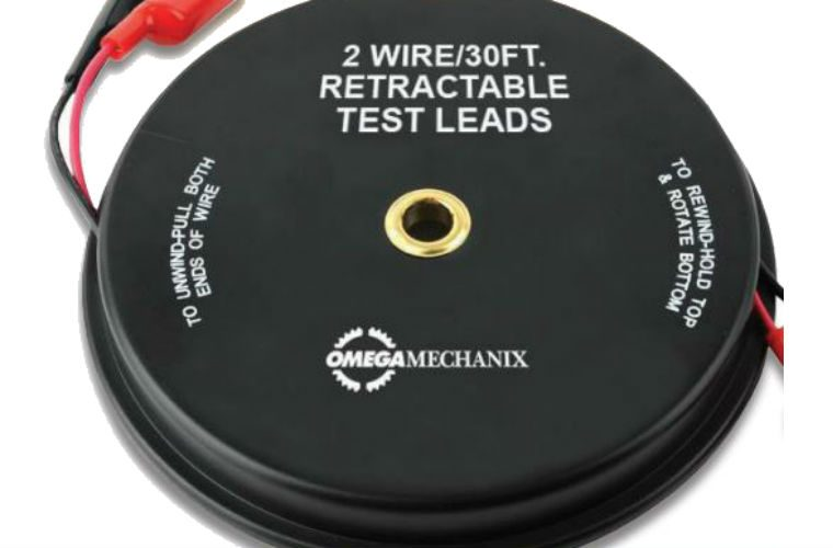Omega two piece retractable test lead set from GSF