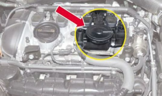 Problem job: defective crankcase ventilation causes loss of power