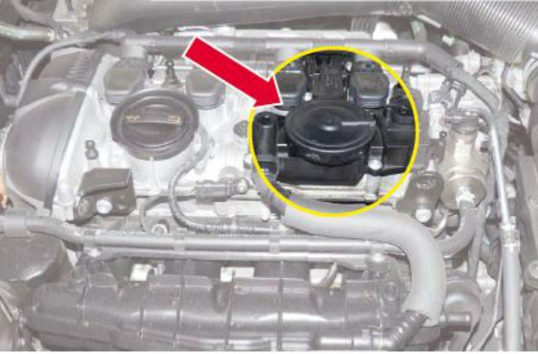 audi crankcase pressure control valve