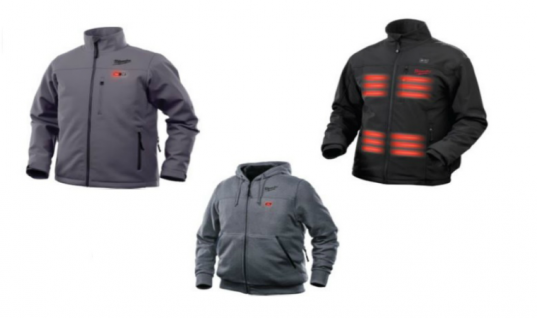 Milwaukee M12 heated jackets & hoodie – get the job done in warm, durable workwear