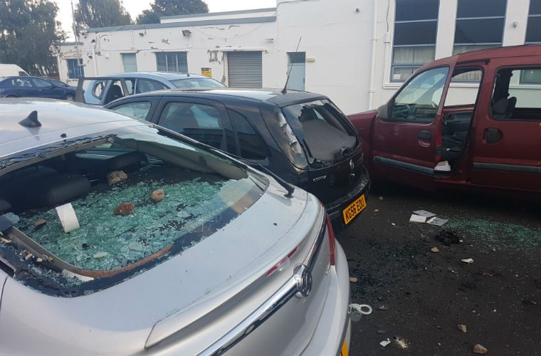 Kids leave a £30K trail of destruction at Leeds garage