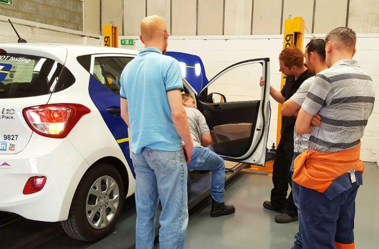 MOT training centre reveals first choice for garage equipment