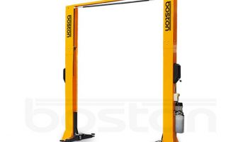 Save over £400 with Boston 4.2T twin ram hydraulic two post lift