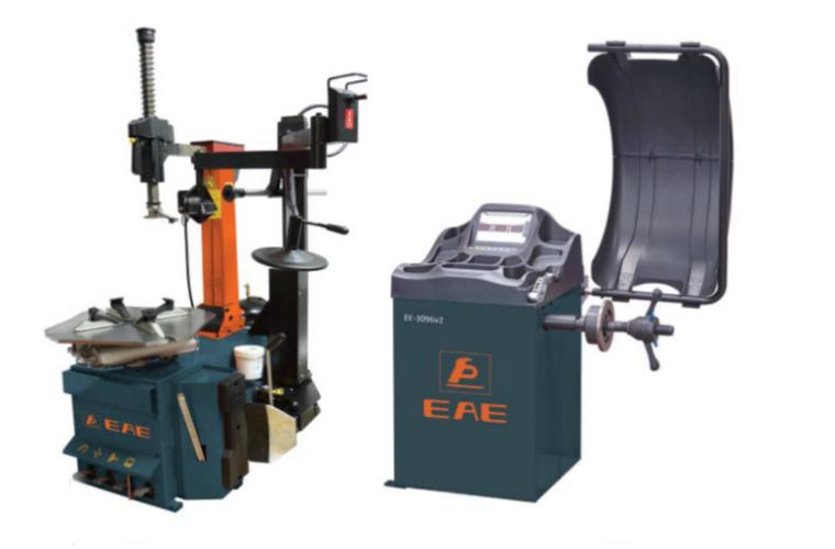 New EAE tyre changer & wheel balancer package deal