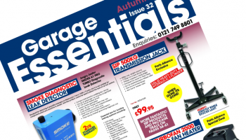 Latest product releases detailed in autumn edition of 'Garage Essentials'