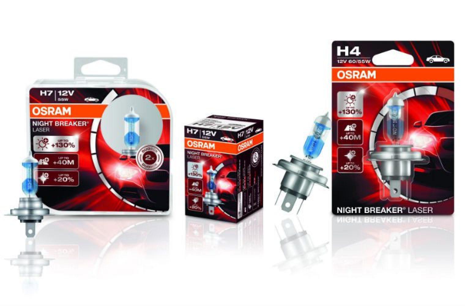 Review OSRAM's Night Breaker Laser range - Garagewire