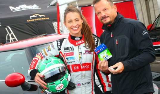 DENSO's Rebecca Jackson achieves target finish at season's last MINI Challenge race