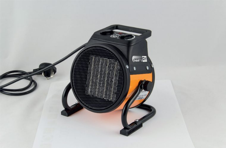 SIP Turbofan 2000 electric fan heater – easy to store and great value
