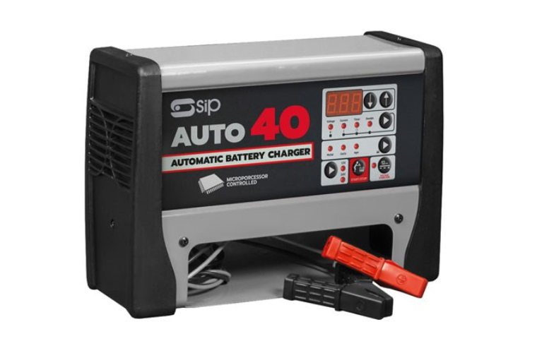 New SIP Chargestar Auto40 automatic battery charger