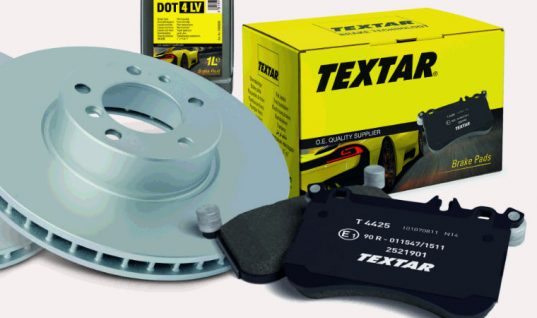 Textar coated brake discs rise above the competition in TMD Friction test