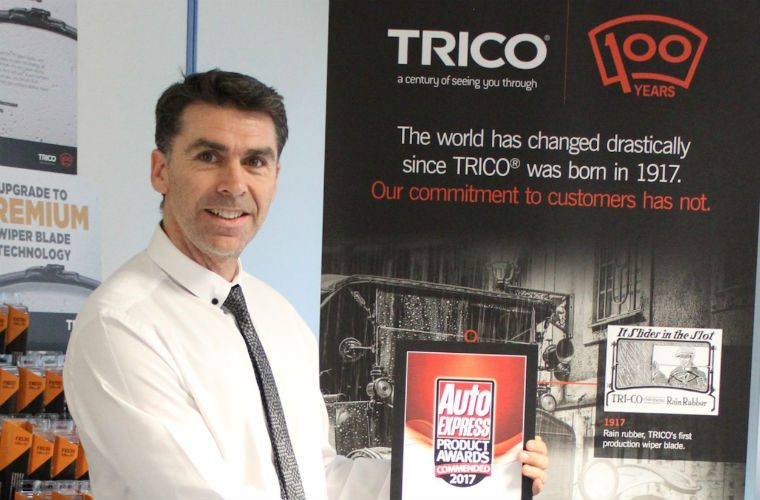 TRICO 'Exact Fit' wins Commended award from Auto Express