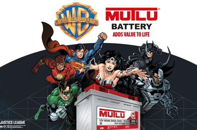 Mutlu Battery partners with Warner Bros