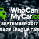 Infographic: WhoCanFixMyCar release September league tables