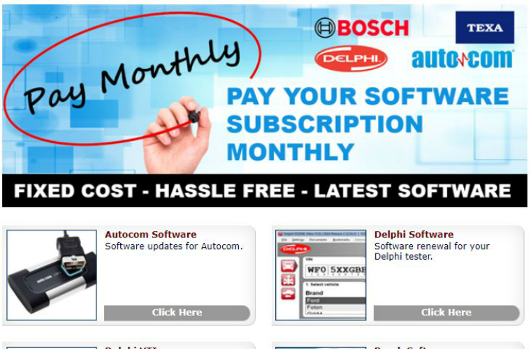 Monthly software subscriptions now available with Hickleys