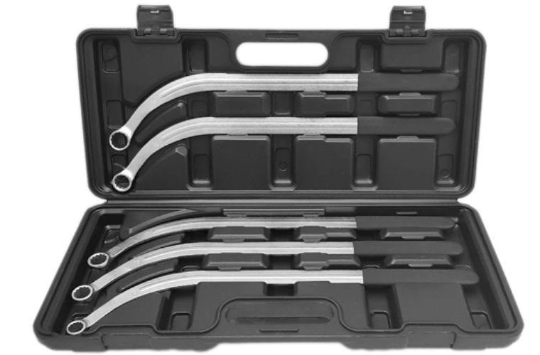Angry Jester five-piece V-belt, timing belt / pulley wrench set