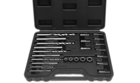 Angry Jester 25-piece damaged bolt extractor set