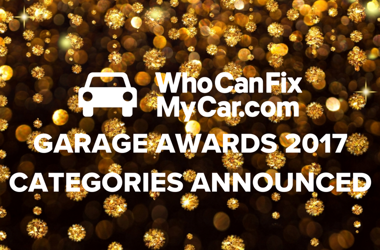 WhoCanFixMyCar garage awards 2017 categories announced