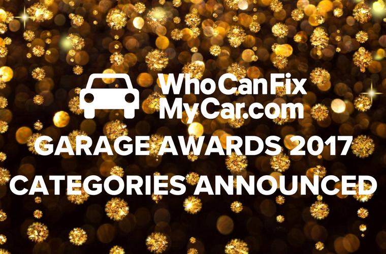 WhoCanFixMyCar garage awards 2017 categories announced