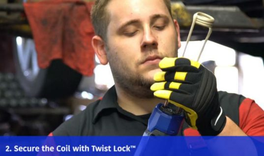 VIDEO: Step-by-step guide to strut bolt removal using induction heat