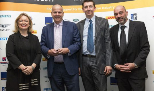 """Klarius named Northern Automotive Alliance """"company of the year"""""""