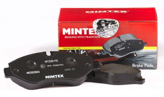 New Renault and Merc braking pads released by Mintex