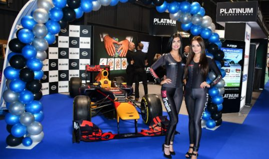 Platinum International named Stand of the Year at Event City