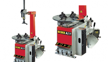 Corghi A210 tyre changer from REMA TIP TOP