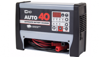"""""""Best of both worlds"""" with SIP Chargestar Auto40 battery charger"""
