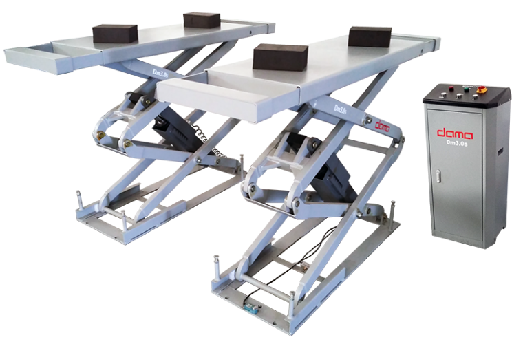 Free delivery and installation on Dama scissor lifts at Hickleys