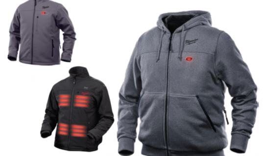 Keep warm this winter with these heated Milwaukee M12 jackets and hoodies