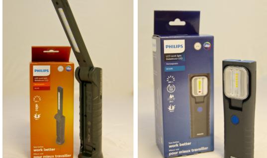 "Philips workshop inspection lamps designed to ""eradicate blind spots"""