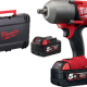 Milwaukee M18 Fuel high torque impact wrench with friction ring