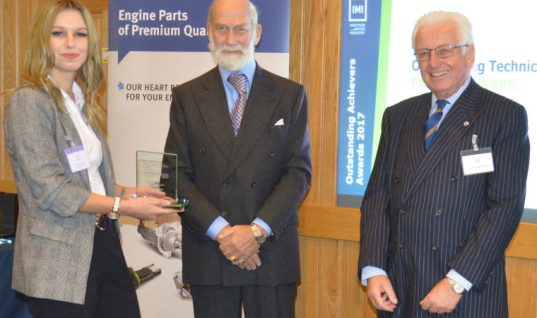 Fellowship of the Motor industry 2017 Bursary award winner announced
