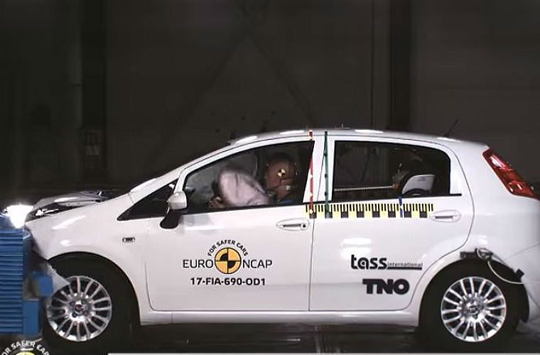 VIDEO: Fiat Punto receives first zero star rating since testing began