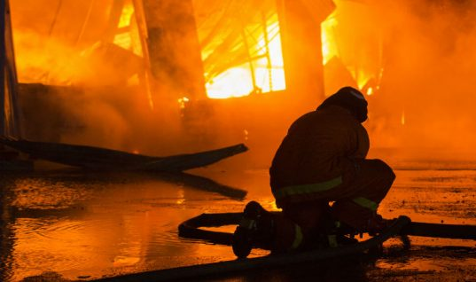"Surrey workshop engulfed in flames ""within thirty seconds"""