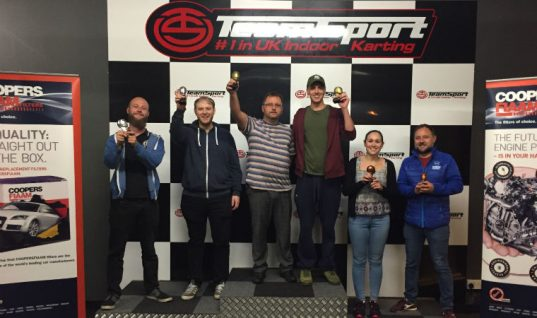 Distributor and customers take part in Sogefi Karting Cup 2017