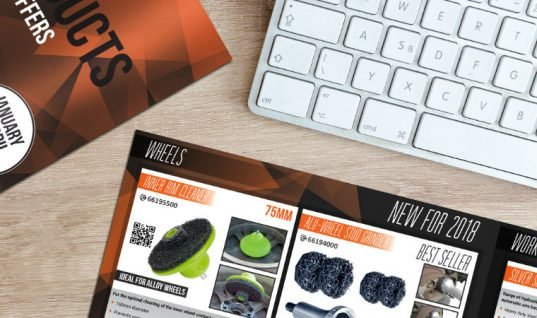 Brand new products to feature in 2018 Sykes-Pickavant brochure