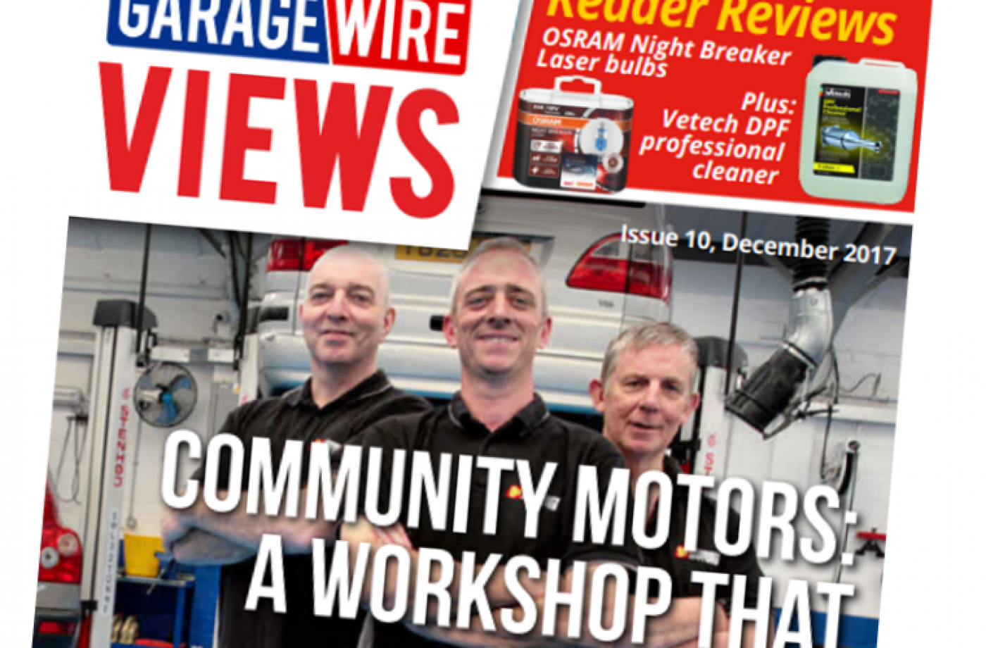 GW Views winter issue out now with latest industry news comments and reactions