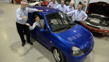 Apprentices build surprise car for 19-year-old colleague