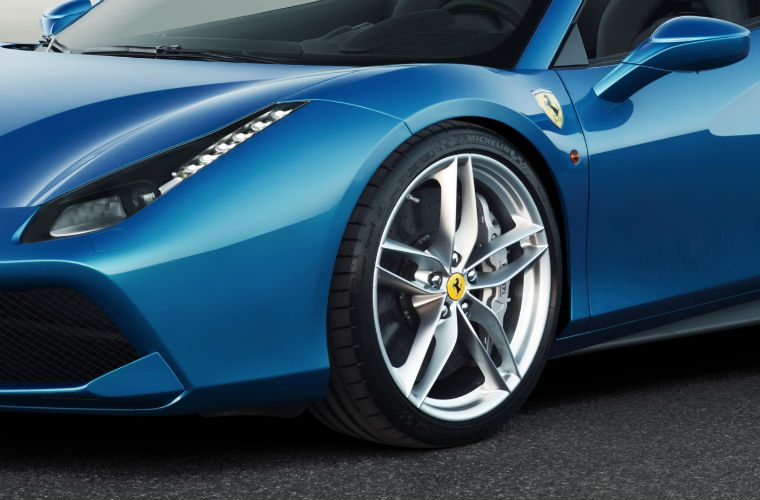 Ferrari crash driver says accelerator pedal got stuck