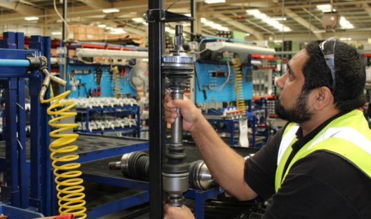 Behind-the-scenes at Shaftec's Birmingham headquarters