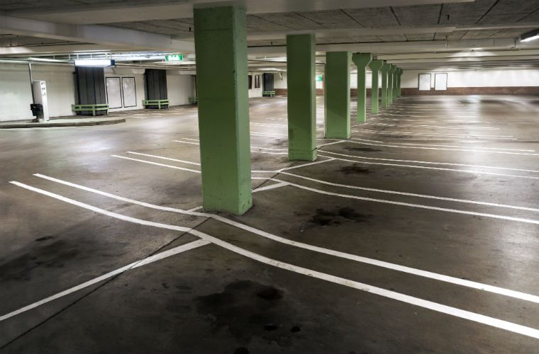 "Frozen in time: vehicles left for almost two decades in disused ""robot"" carpark"