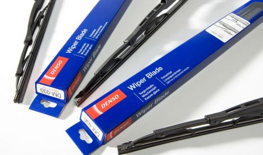 DENSO aftermarket wiper blade technology adapted for Japanese bullet trains