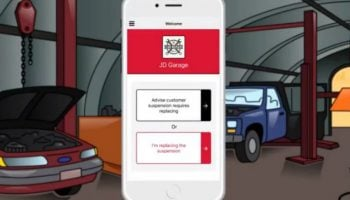 Video: Free app by KYB provides suspension maintenance support for technicians