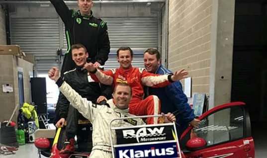 Citroen C1 endurance race supported by Klarius exhaust systems