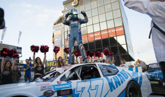 MOOG wraps up another year in NASCAR with Whelen Euro Series