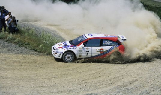 Colin McRae's Ford Focus WRC goes under the hammer